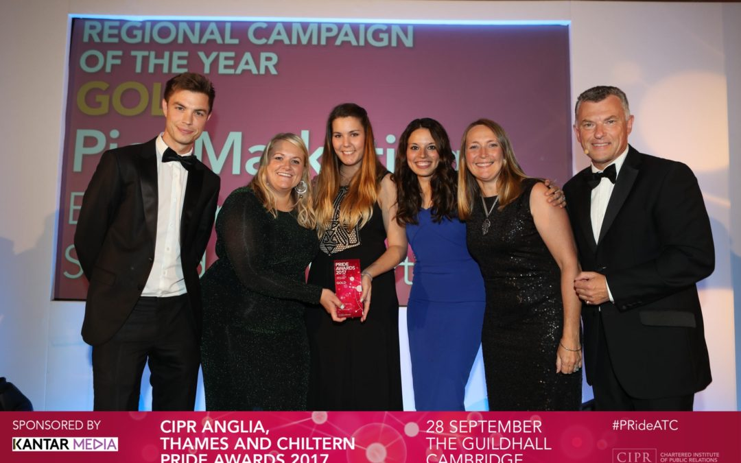 Pier PR & Marketing Wins Gold at CIPR Pride Awards