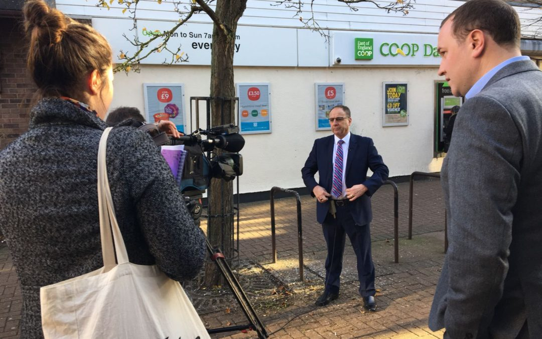 Pier sets the national news agenda for the East of England Co-op