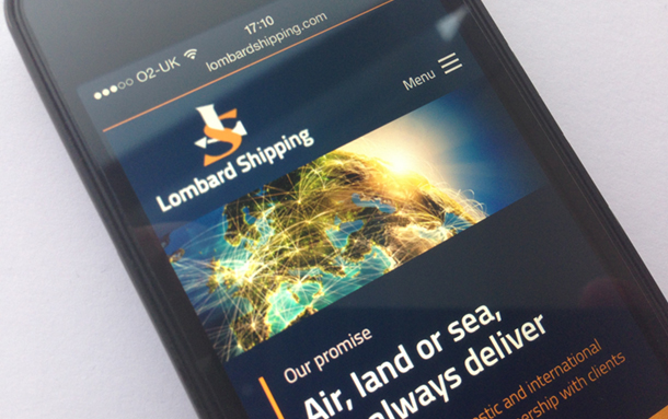 Pier Unveils Energised Rebrand For Lombard Shipping
