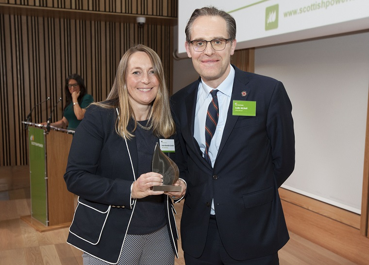 Pier PR & Marketing Recognised by ScottishPower for Helping to Deliver Record Investment Plans