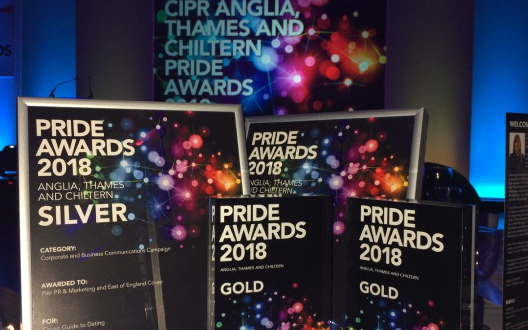 Pier PR & Marketing awards at CIPR PRide Awards